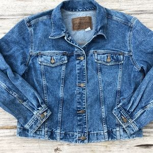Vintage Liz Claiborne Cotton Denim Jacket XL